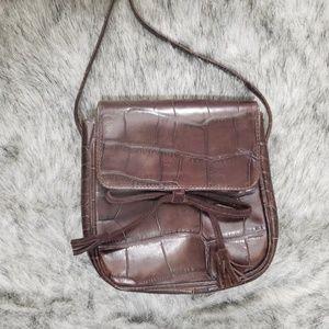 HAROLD'S Geniune Leather Handbag Purse Italy
